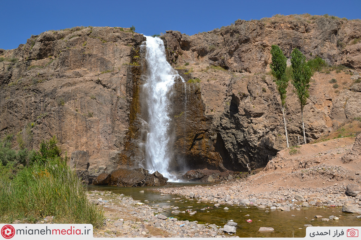 آبشار مصنوعی سد آیدوغموش