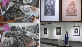 نمایشگاه آثار نقاشی خانم مرسلزاده