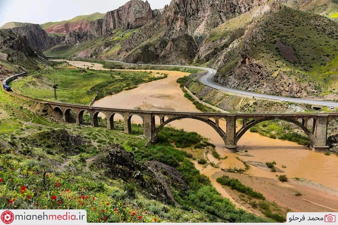 پل راه آهن قافلانکوه