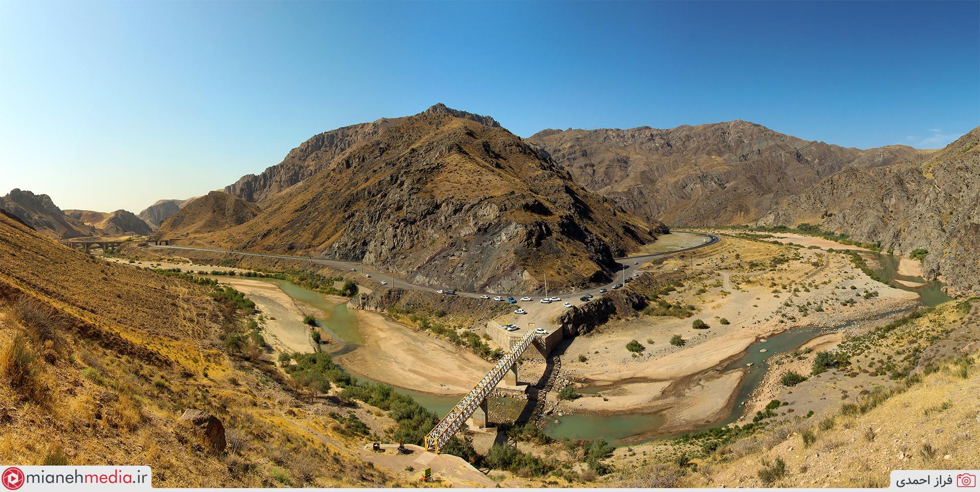 پل کوهنوردی گچلیک (چاخار)