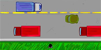 بازی عبور از خیابان