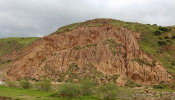 تپه های زیبای روستای ساری قمیش (چشمه کش)