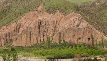 تپه های زیبای روستای ساری قمیش