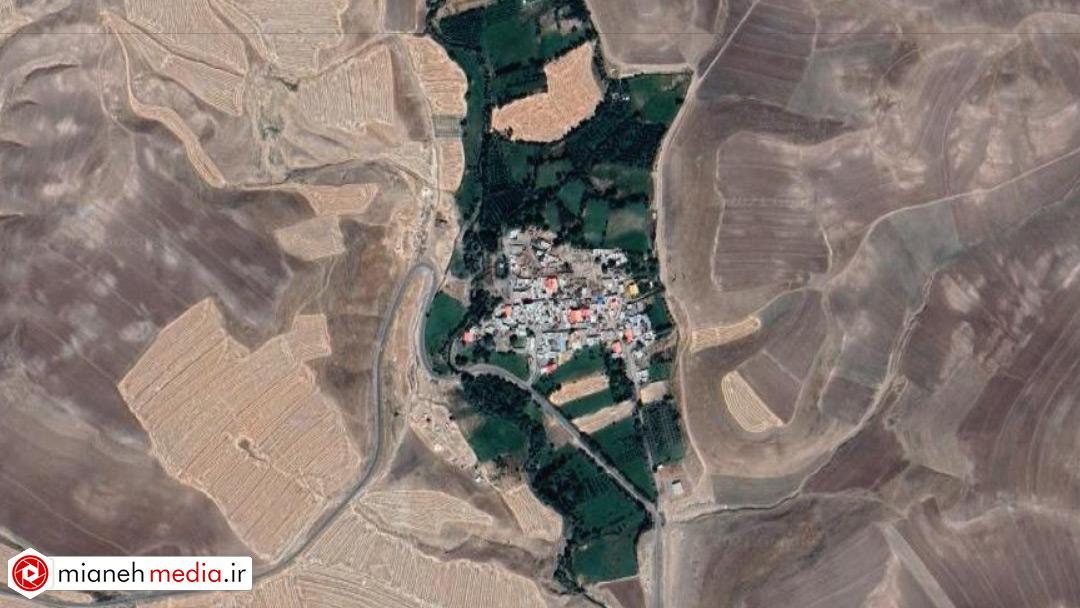 نقشه روستای آشاغی سوما