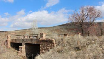 پل زیبای کنار روستای آشاغا صومای