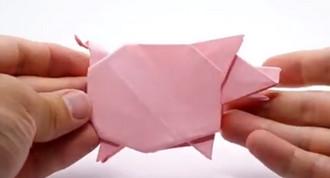 خوک کاغذی