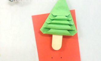 درخت کریسمس کاغذی
