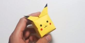 شخصیت پوکمون گو را به روش اوریگامی بسازید / آموزش ویدیویی