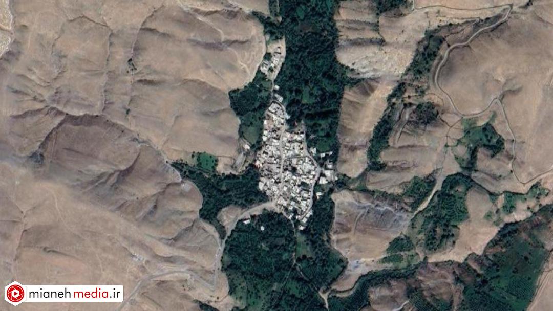 نقشه روستای بلوکان
