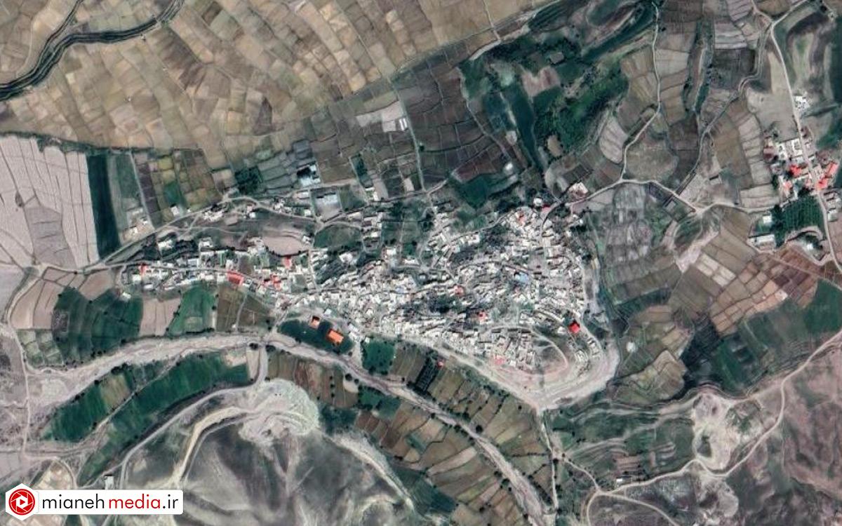 نقشه روستای ممان