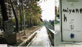 اقدام جالب سربازان میانهای در شمیران تهران!