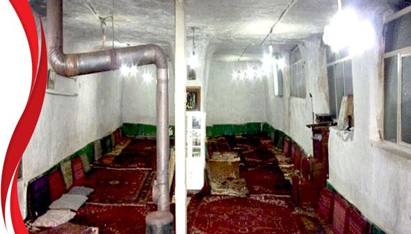 بزرگترین مسجد صخره ای ایران