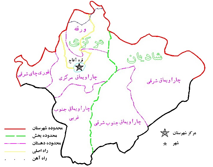 نقشه چاراویماق