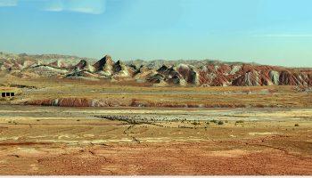 عکس کوه های رنگی