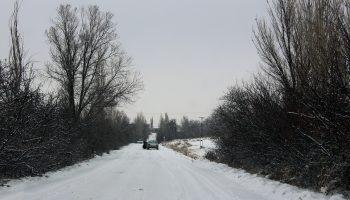میانه در قاب زمستان