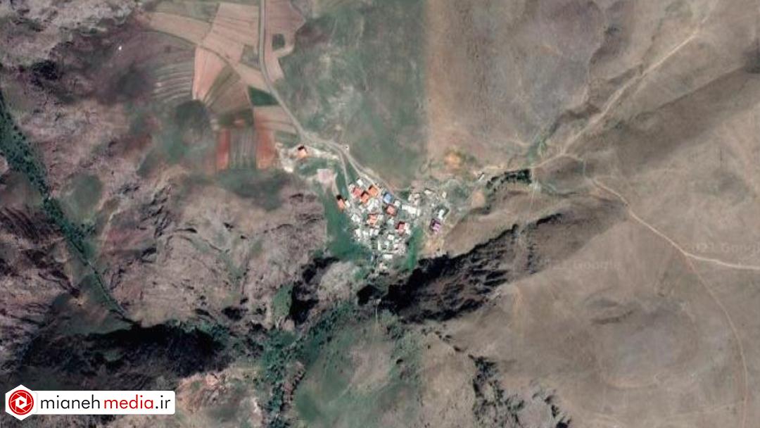 نقشه روستای وهیل