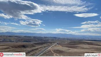 راه آهن میانه تبریز