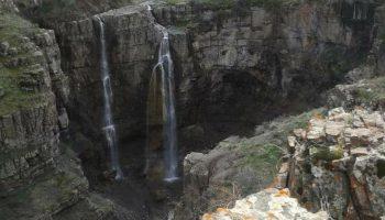 آبشارهای زیبای روستای ماوی