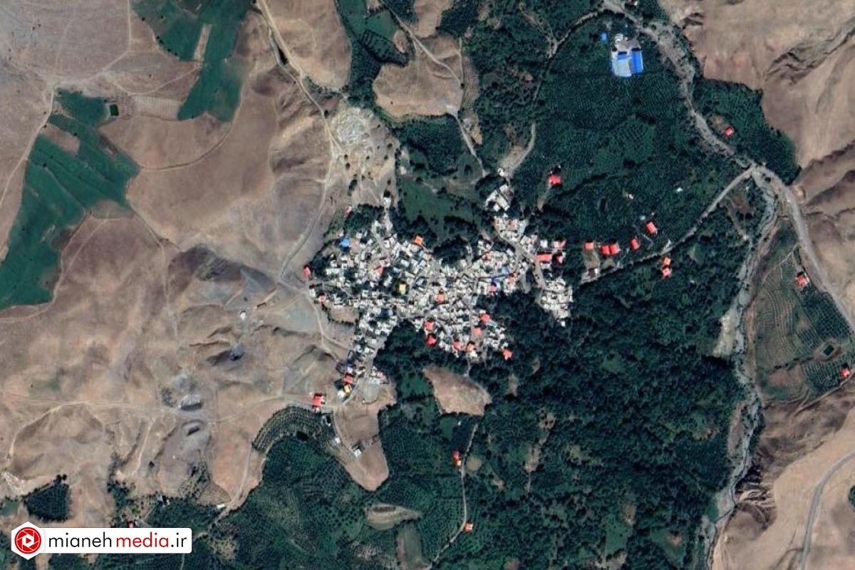 نقشه روستای نشق