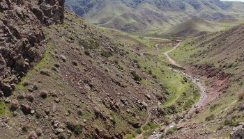 مسیر آبشار عجمی