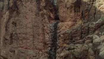 آبشار نرسیده به سه راهی کهبنان