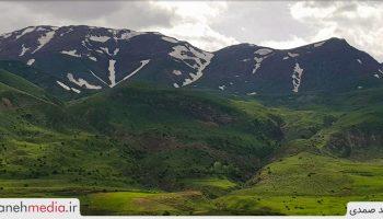دورنمای کوهستان بوزقوش