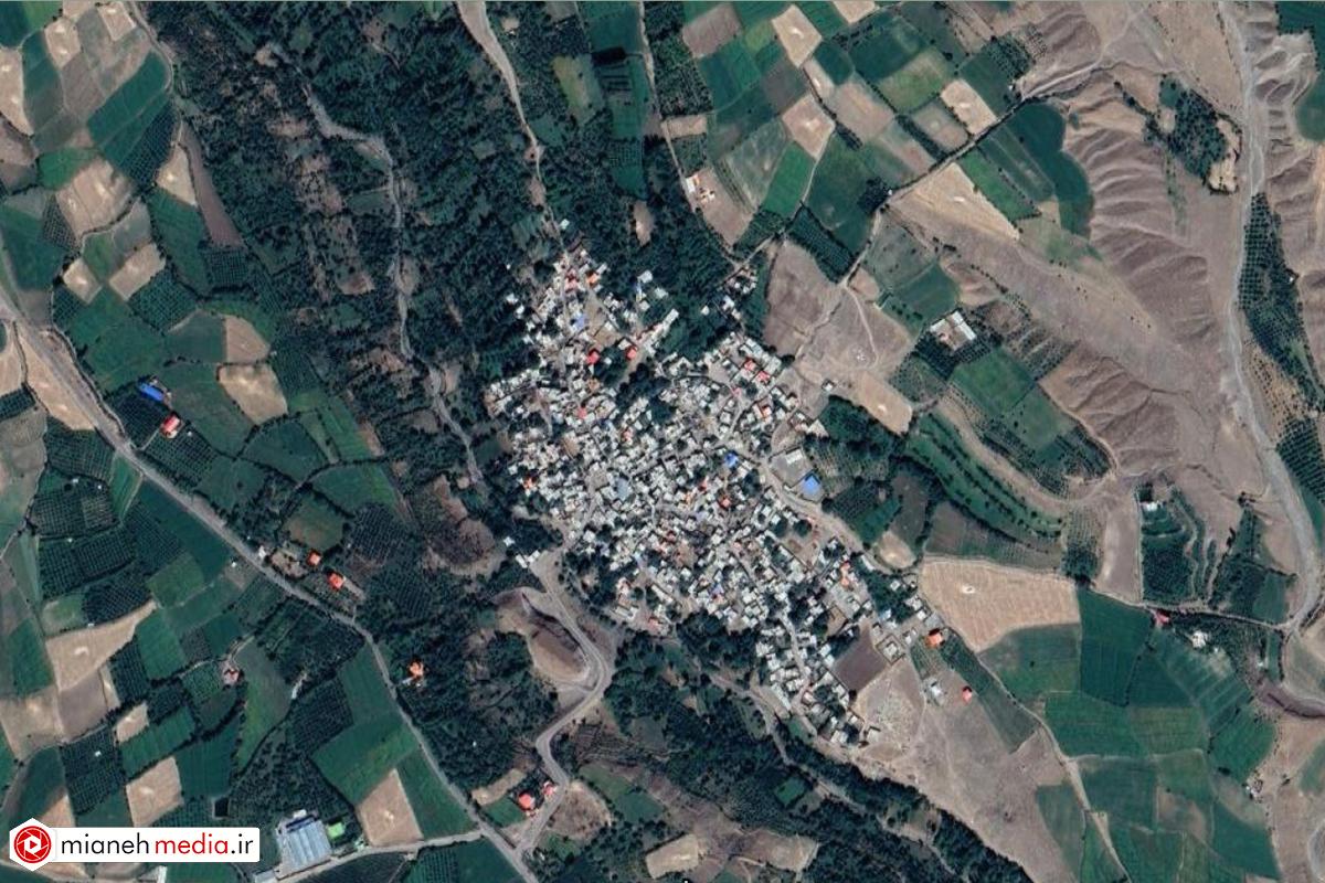 نقشه روستای بالیسین