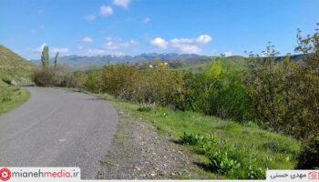 جاده روستای کسلان