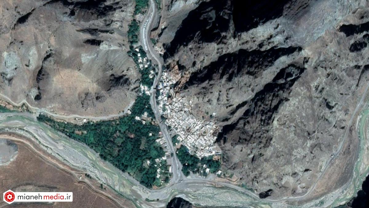 نقشه روستای کوبلان