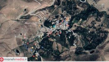 نقشه روستای حاج یوسفلو علیا