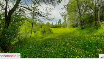 طبیعت روستای کزرج