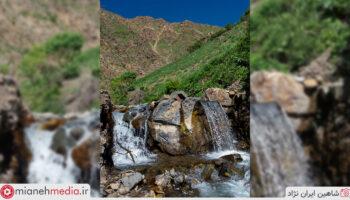 آبشار روستای فندقلو