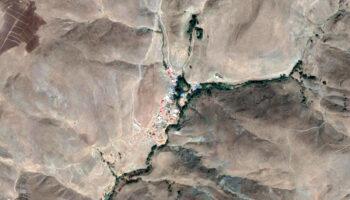 نقشه روستای گاوانی