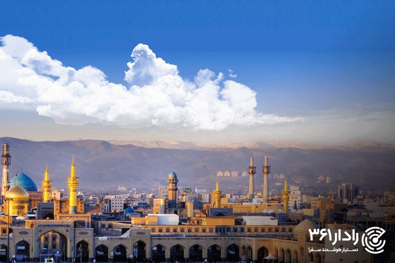 خرید بلیط هواپیما تهران مشهد