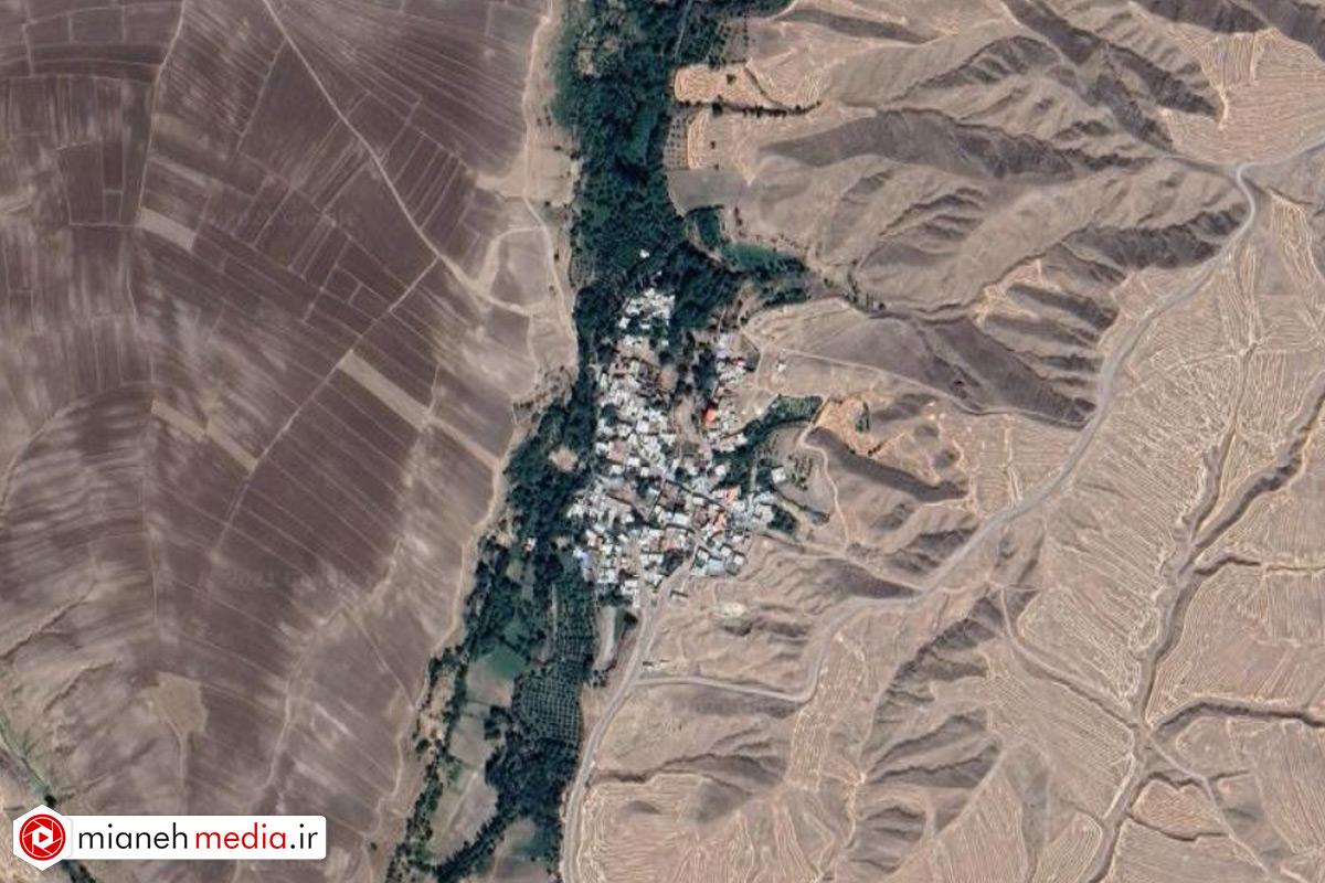 نقشه روستای نودولق