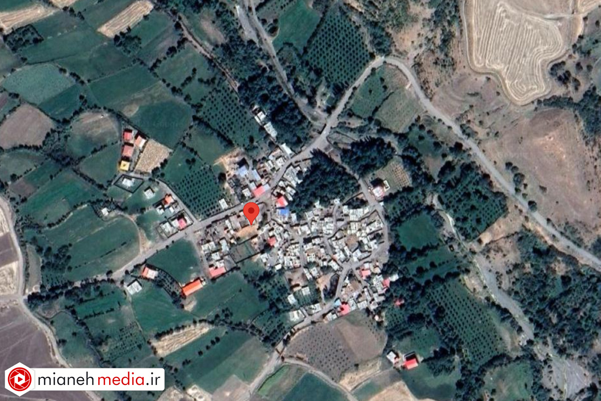 نقشه روستای نودوزق