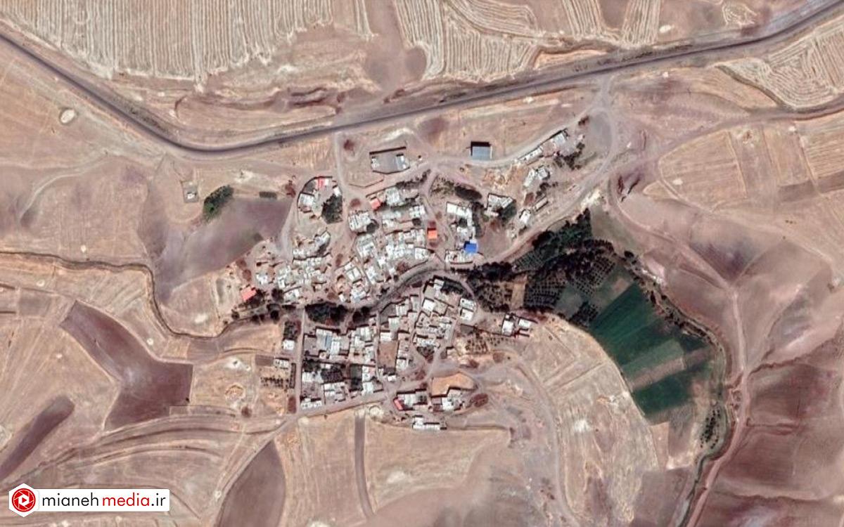 نقشه روستای قاسم درق