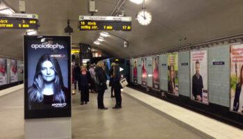 تبلیغ در مترو